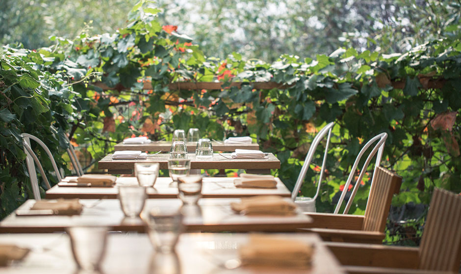 Table setting - Visit SHED in Healdsburg