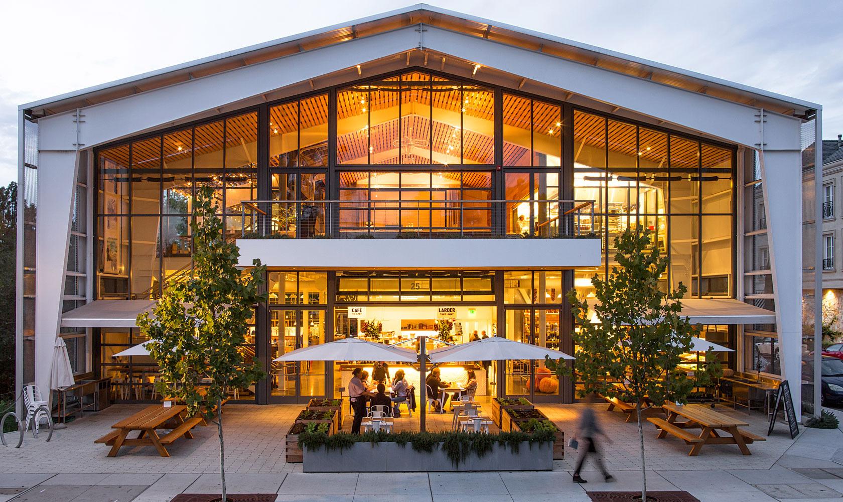 Visit SHED in Healdsburg - Exterior building