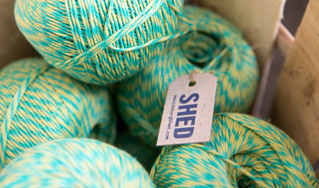 Products at SHED store - Yarn