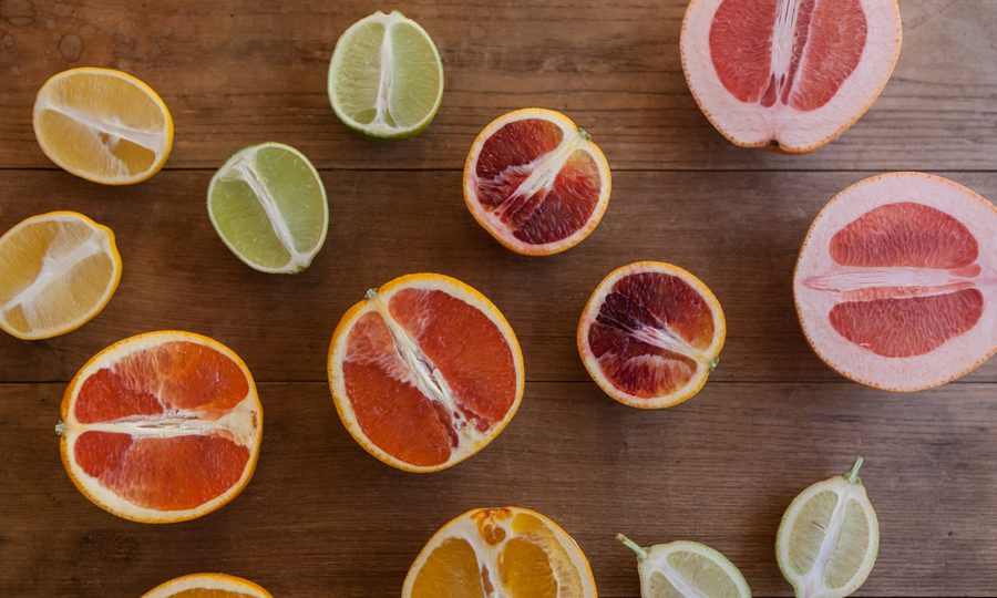 California winter citrus