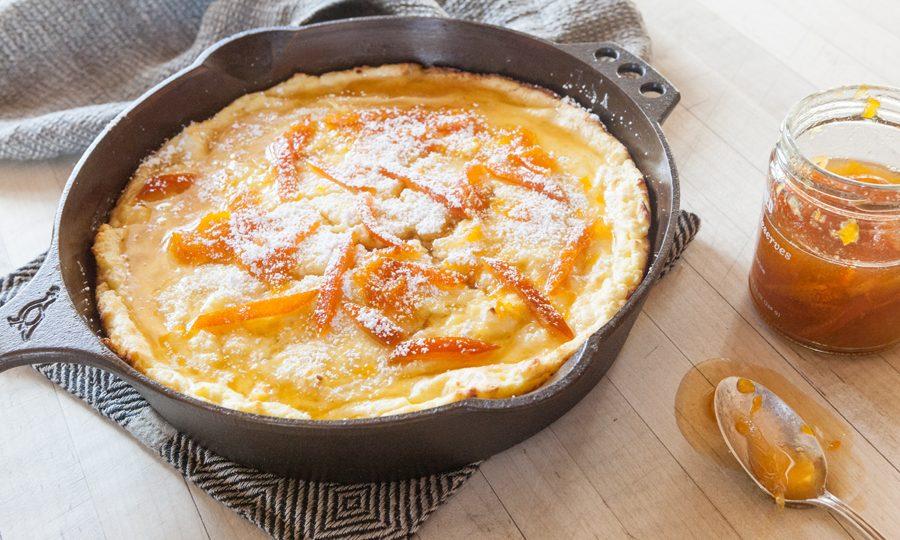 skillet pancake souffle